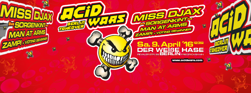Acid Wars Berlin Takeover