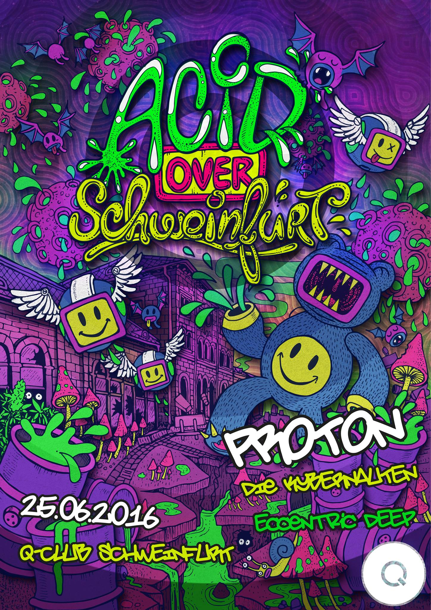 Acid over Schweinfurt